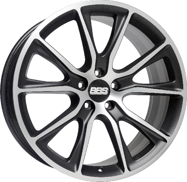 BBS SV Satin Black, diamond-cut Image