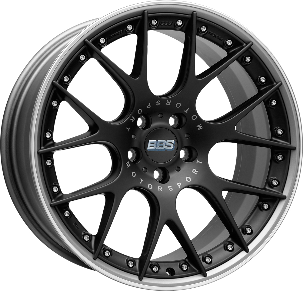 BBS CH-R II Satin Black, rim protector Image